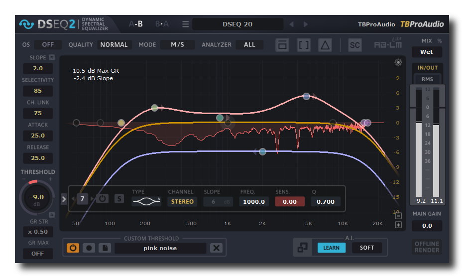 动态EQ TBProAudio.DSEQ.v2.2.1.Incl.Cracked.and.Keygen-R2R