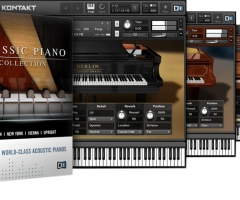 经典钢琴合集Native Instruments Classic Piano Collection KONTAKT