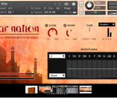 西塔民族乐器二代Impact Soundworks Sitar Nation v2.0