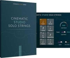 电影工作室独奏弦乐Cinematic Studio Solo Strings KONTAKT