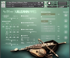 爱尔兰风笛Ilya Efimov Production Uilleann Pipes KONTAKT