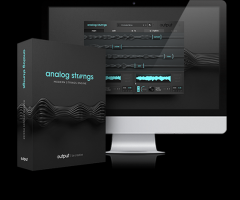 模拟合成弦乐Output Analog Strings KONTAKT