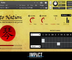 日本筝二代Impact Soundworks Koto Nation v2.0 KONTAKT