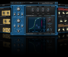 Blue Cat Audio Blue Cat's Destructor v1.11蓝猫失真效果器