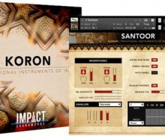 伊朗特色音色库Impact Soundworks KORON Traditional Instruments of Iran KONTAKT