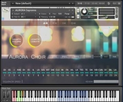 极光合唱团Aria Sounds Aurora Choir KONTAKT