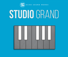 Echo Sound Works Studio Grand KONTAKT 三角钢琴音色