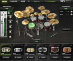 Naughty Seal Audio Perfect Drums Factory Library v1.5.0完美鼓