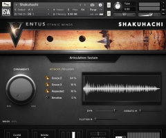 尺八Impact Soundworks Ventus Ethnic Winds – Shakuhachi KONTAKT