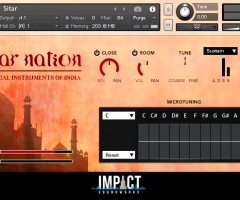 西塔尔琴Impact Soundworks Sitar Nation v2.0 KONTAKT