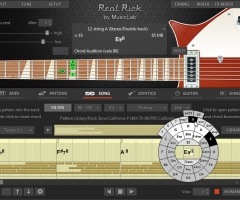 MusicLab 三把吉他套装RealRickv4.0,RealEightv4.0,RealRickV4.0