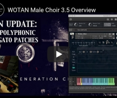Strezov Sampling WOTAN Male Choir v1.2 KONTAKT 采样男声合唱团